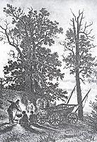 Night, 1886, shishkin
