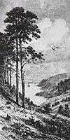 On the Kama near Yelabuga, 1885, shishkin