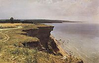 On the Shore of the Gulf of Finland. Udrias Near Narva, 1889, shishkin