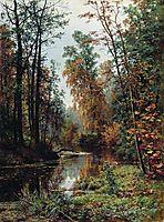 Park in Pavlovsk, 1889, shishkin