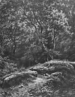 Path in the forest, 1871, shishkin