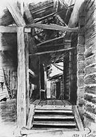 Patio, 1878, shishkin