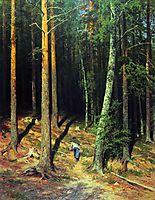 Pine forest , 1878, shishkin