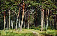 Pine forest , 1885, shishkin