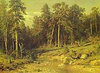 Pine Forest in Viatka Province, 1872, shishkin