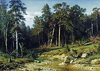 Pine Forest in Vyatka Province, 1872, shishkin