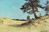 Pine on sand, 1884, shishkin