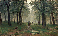Rain in the Oak Forest, 1891, shishkin