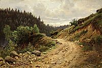 The road, 1878, shishkin