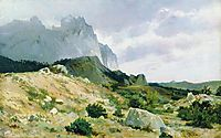 Rocky shore, 1879, shishkin