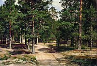 The Sestroretsk Bor, 1896, shishkin