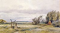 Shmelevka. Windy day, 1861, shishkin
