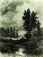 The stream, 1873, shishkin