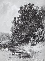 Stream, 1883, shishkin