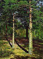 The Sun lit Pines, 1886, shishkin