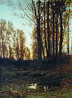 Twilight. After Sunset, 1874, shishkin