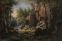 View of Valaam Island. Kukko, 1860, shishkin