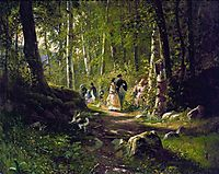 A Walk in the Forest, 1869, shishkin