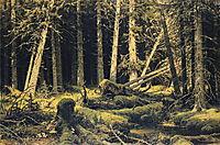 Wind Fallen Trees, 1888, shishkin