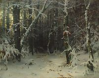 Winter Forest, shishkin