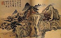 Autumn the mountain, 1699, shitao