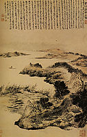Autumn on the outskirts of Yangzhou, 1707, shitao