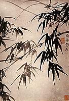 Bamboo, 1707, shitao