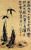 Bamboo shoots, 1707, shitao
