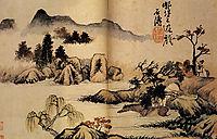 Bath horses, 1699, shitao
