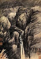 La Grande Cascade, 1707, shitao