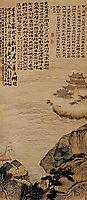 The lake Cao, 1695, shitao