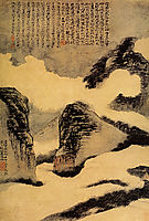 Mountains in the Mist, 1702, shitao