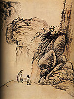 Nostalgic walk, 1707, shitao