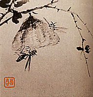 Studies of insects, wasps, 1707, shitao