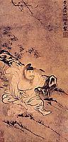 Zhong Kui, Demons tamer, 1685, shitao