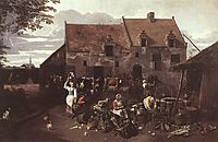 The Market Garden, 1664, siberechts