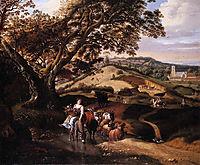 A Pastoral Landscape, 1684, siberechts