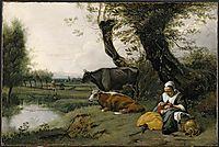 Pastoral Scene, c.1670, siberechts