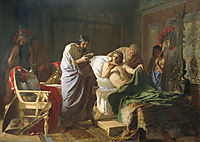 Alexander of Macedon Trust-s the Doctor Philip, 1870, siemiradzki