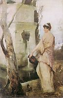 At the well, 1889, siemiradzki