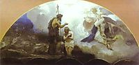 Baptism of Chris, 1876, siemiradzki