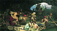 Corsairs, 1880, siemiradzki