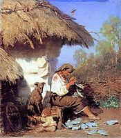 Country Idyll, c.1886, siemiradzki