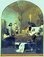 The death of Alexander Nevsky, siemiradzki