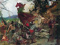 The Funeral of Ruz in Bulgar, c.1883, siemiradzki