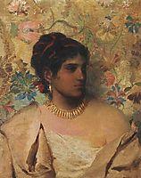 Gypsy Woman, 1877, siemiradzki
