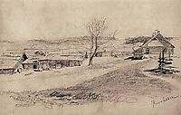 Landscape, 1873, siemiradzki