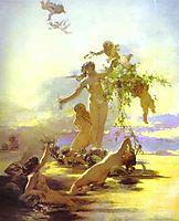Naiads, c.1880, siemiradzki