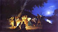 Night on the Eve of Ivan Kupala, c.1880, siemiradzki