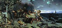 Orgy of the Times of Tiberius on Capri, 1881, siemiradzki